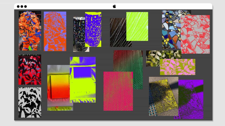 Kris manipulará, editará y extraerá colores de las fotos que toma.