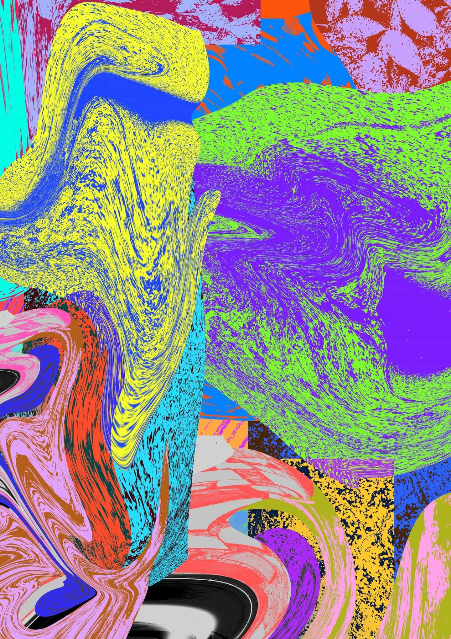 Kris ha diseñado una serie de patrones abstractos que puedes usar en tu autorretrato. Descárgalos arriba.