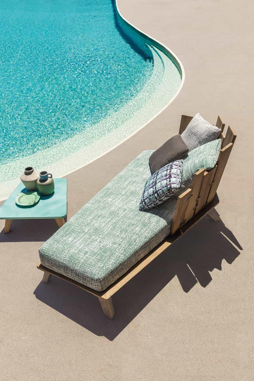 Rafael muebles de exterior por Paola Navone