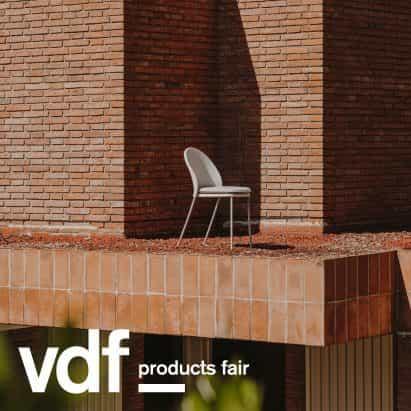 Expormim presenta una alfombra al aire libre y dos sillas en VDF productos justo