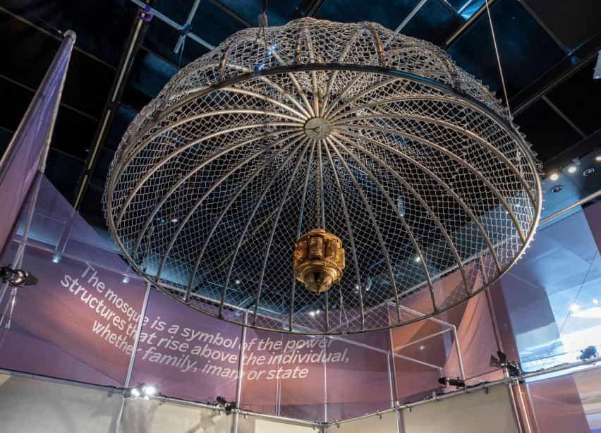 La cúpula de la instalación de Aljan Gharem en la exposición del Premio Jameel de V&A