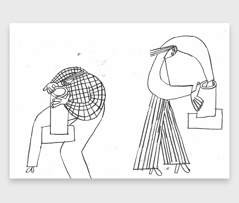 la práctica la diversificación de María Midttun se centra en figuras humanas