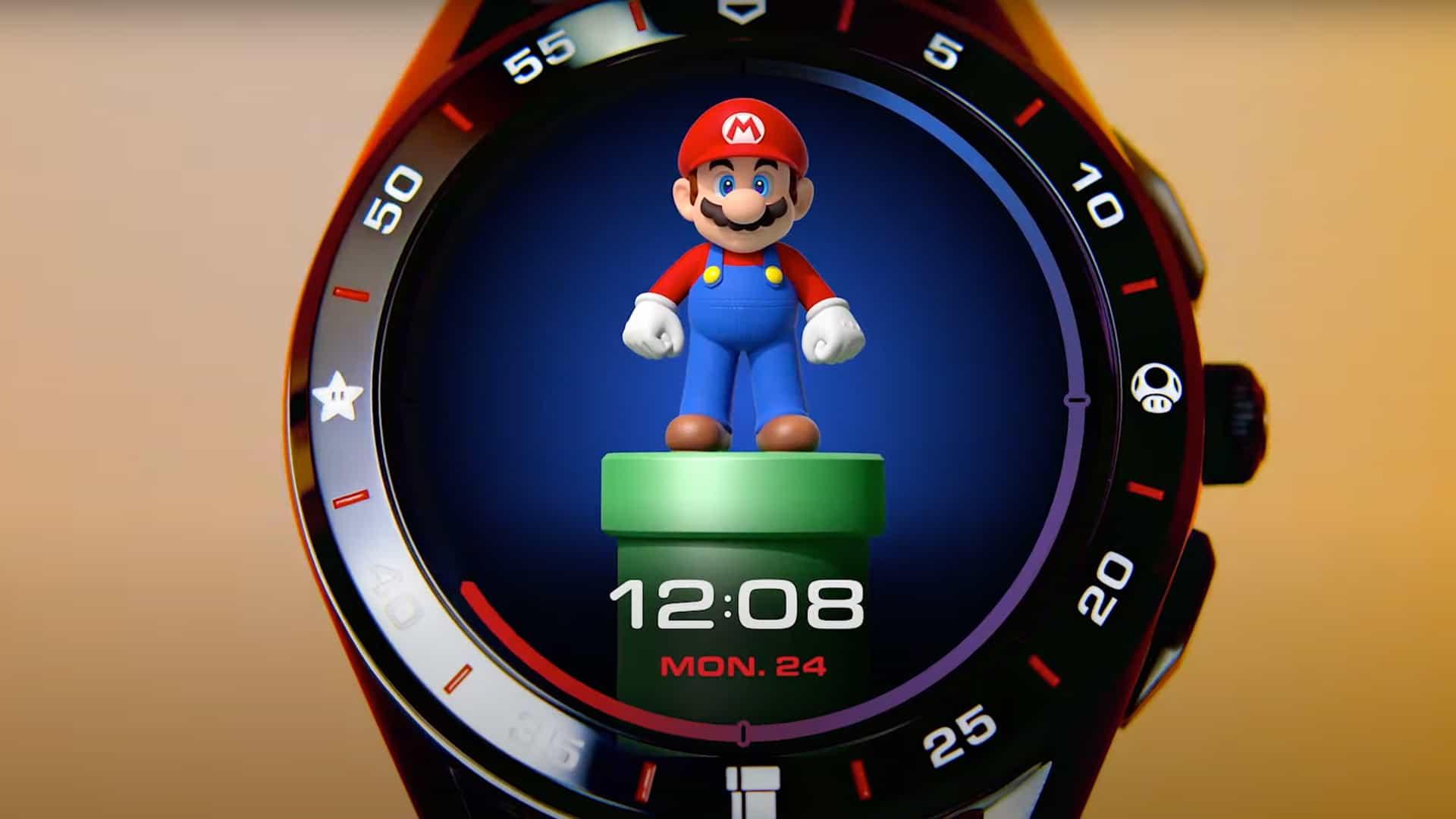 El ridículo reloj inteligente de Super Mario es el dispositivo que no sabías que necesitabas