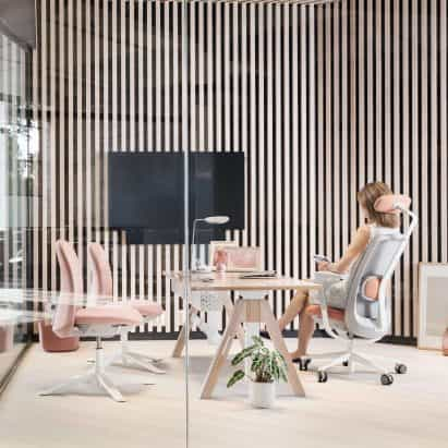 HÅG SoFi silla de oficina por Frost Produkt y Aleksander Borgenhov para Flokk