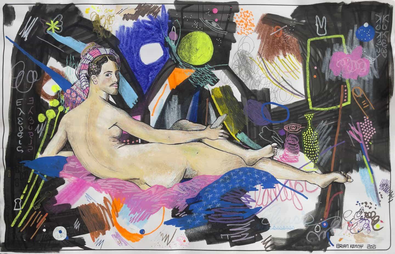 El artista Brian Kenny nos habla a través de su nueva exposición individual I'mmaterial