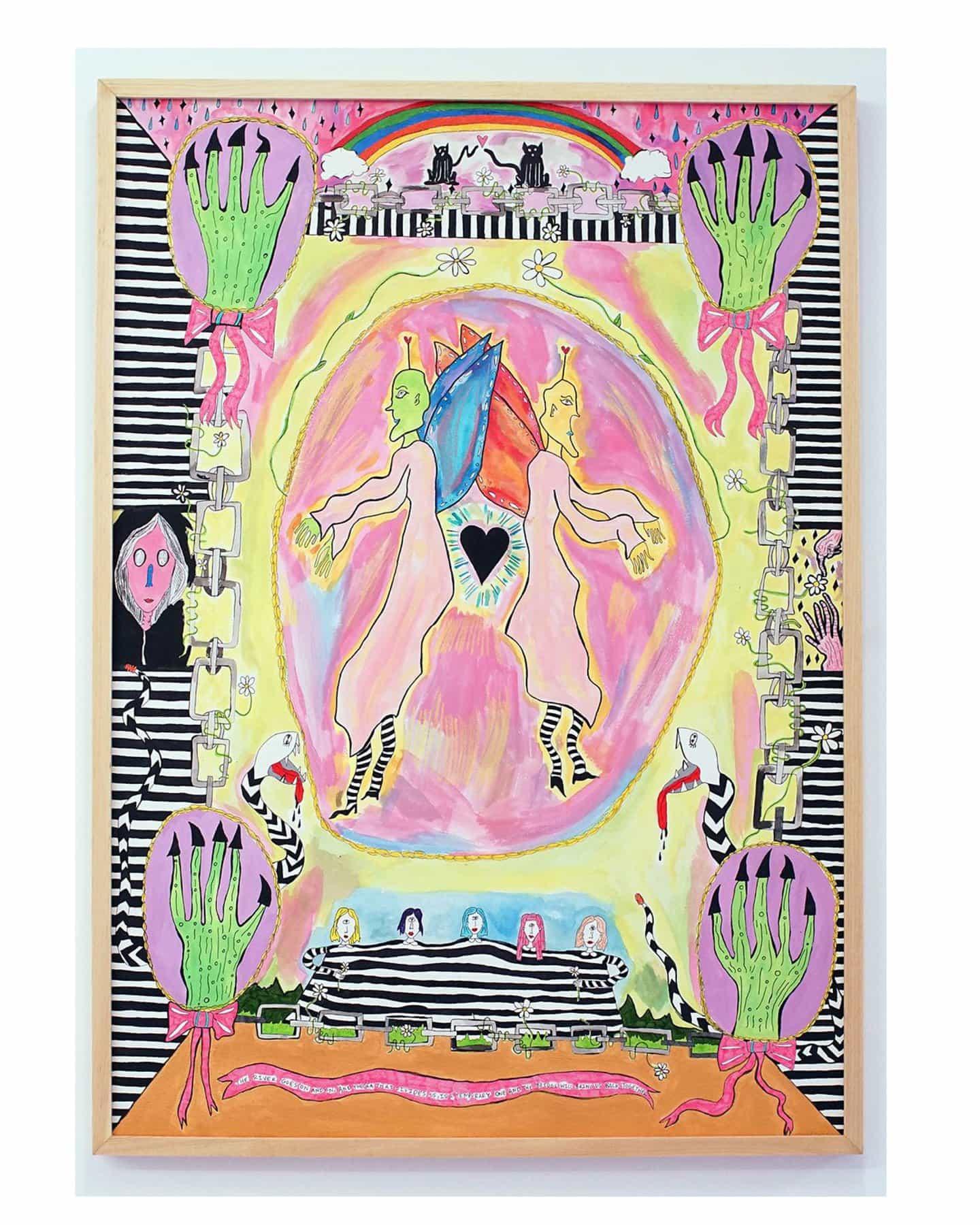 Moverse entre la ilustración, la pintura y la cerámica con la talentosa artista Claire Christerson