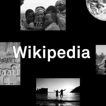 Snøhetta para trabajar con la comunidad de Wikipedia sobre la identidad de marca