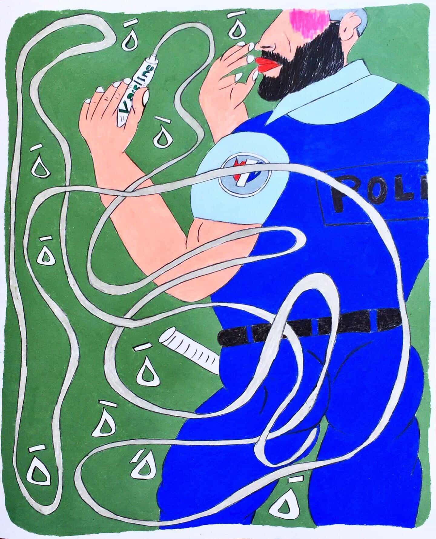 Soufiane Ababri regresa con dibujos más carga política y explícitas