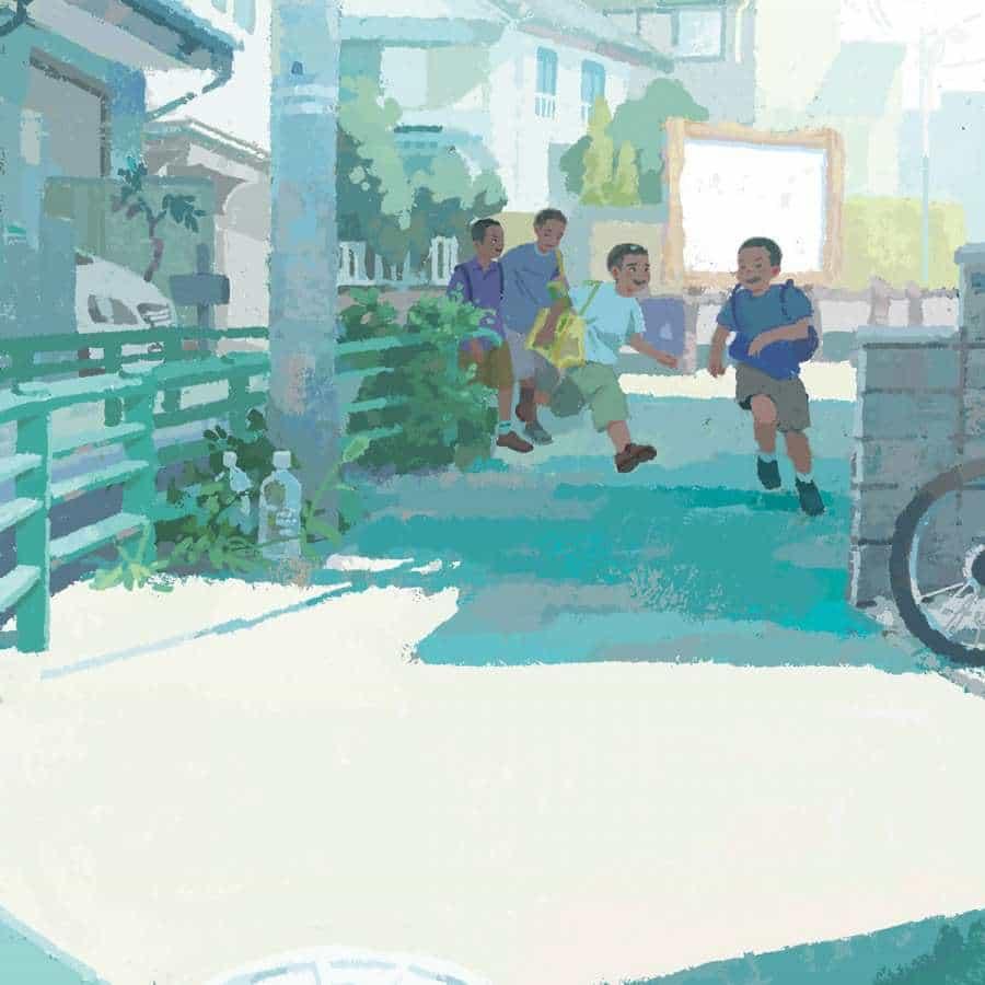 Ilustraciones de Japan Life por Minaminani Take