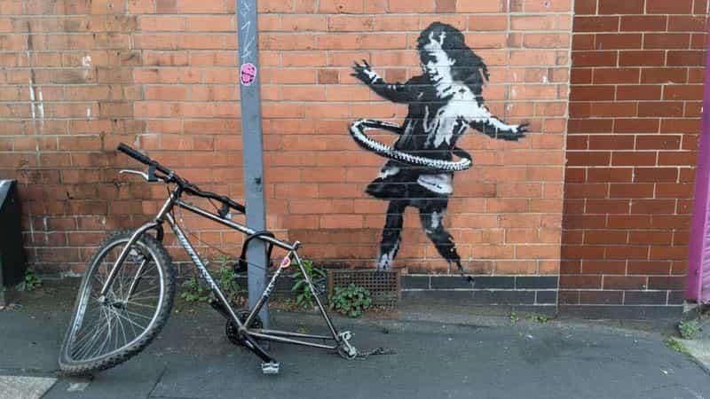 Banksy: ¿Es este arte de la calle Nottingham por el artista misterio?