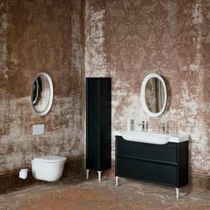 La colección de baño nuevo clásico de Marcel Wanders para Laufen