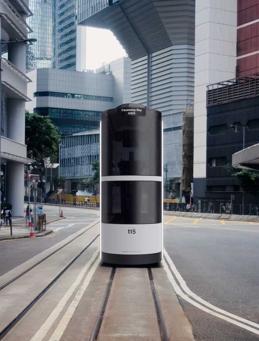 Ponti Design Studio crea el concepto conductor de tranvía de Hong Kong post-Covid