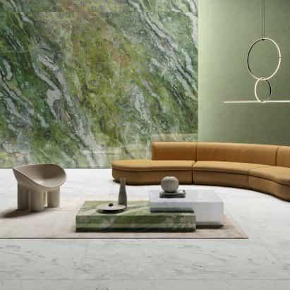 Ariostea desvela nuevas texturas de mármol-efecto como parte de la colección Ultra Marmi