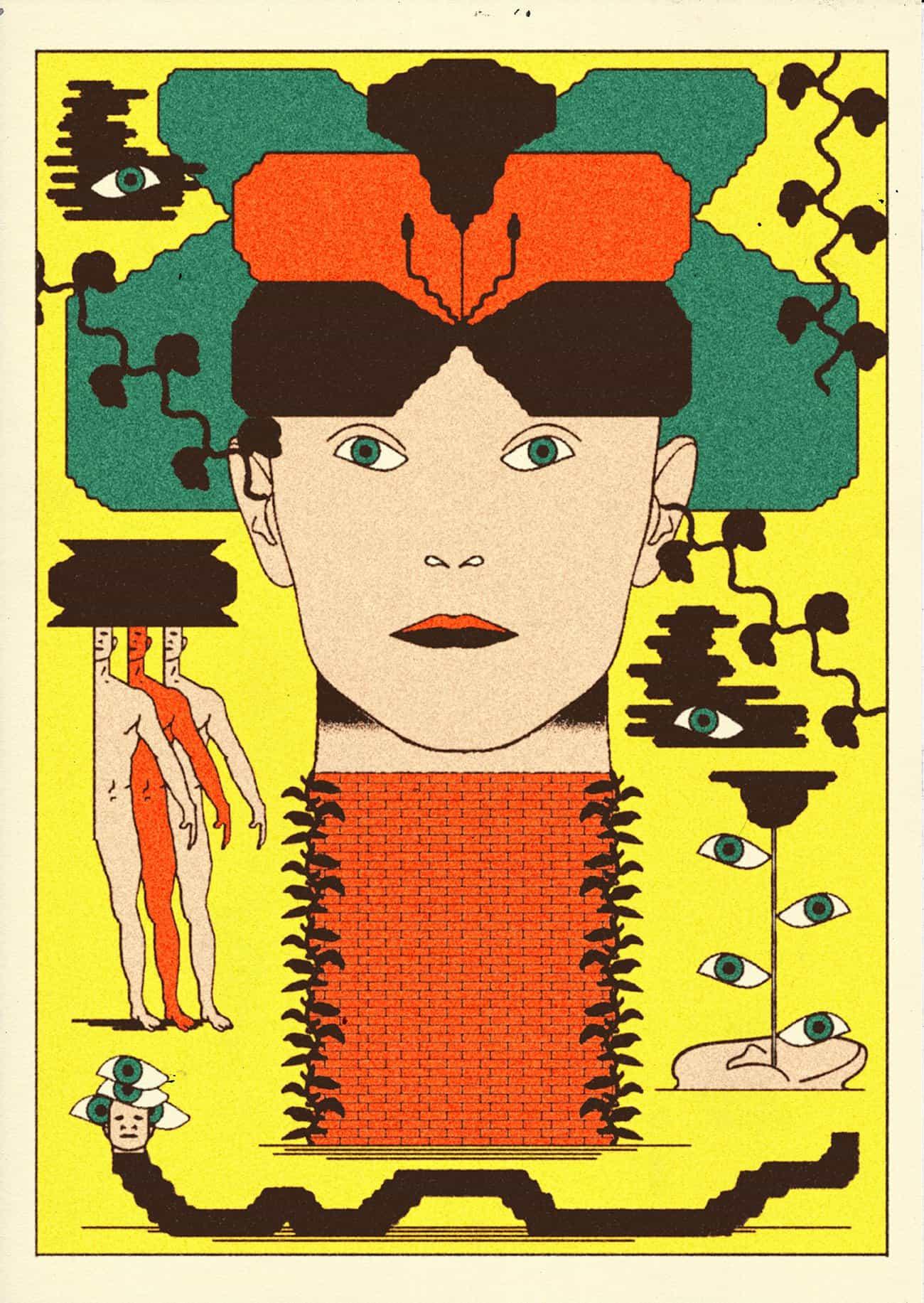 Echar un vistazo a la mente extraño y loco del ilustrador Ramón Keimig