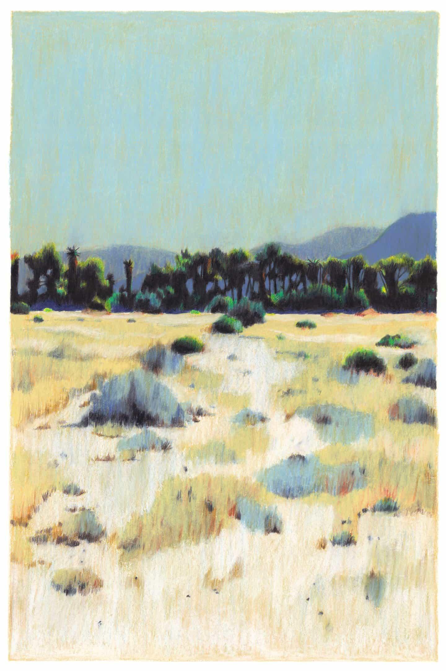 Clément Thoby le invita a sus preciosos paisajes y atmosféricos, desprovisto de cualquier pueblo