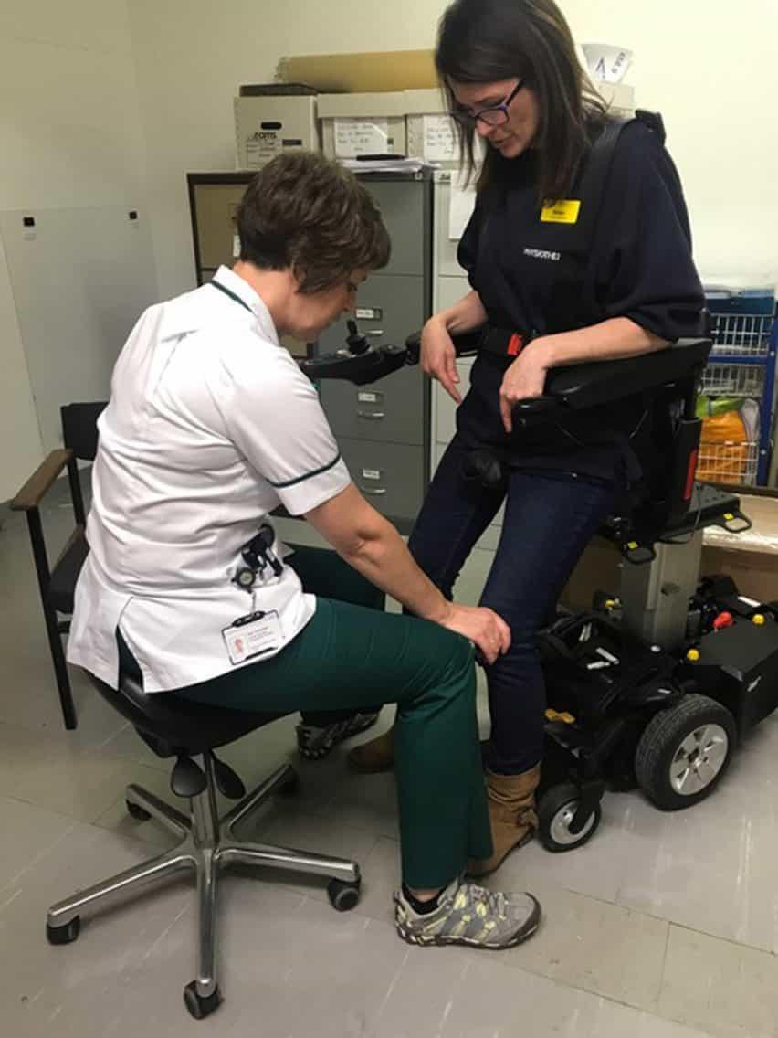 silla de ruedas de pie de Suzanne Brewer ha sido preseleccionado para un premio Dezeen