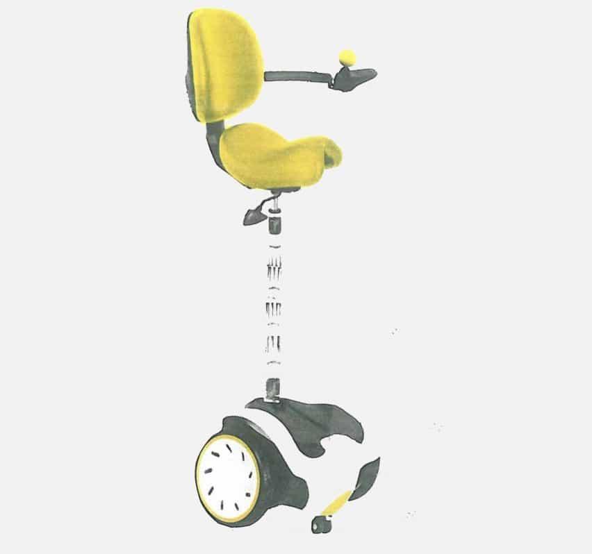 de Suzanne Brewer silla de ruedas para caminar ha sido preseleccionado para un premio Dezeen