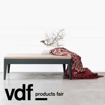 Eva Natasa introduce nuevas mesas y sillas en VDF productos justo