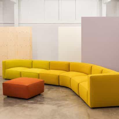 sistema del sofá dado por Alfredo Häberli para Andreu World