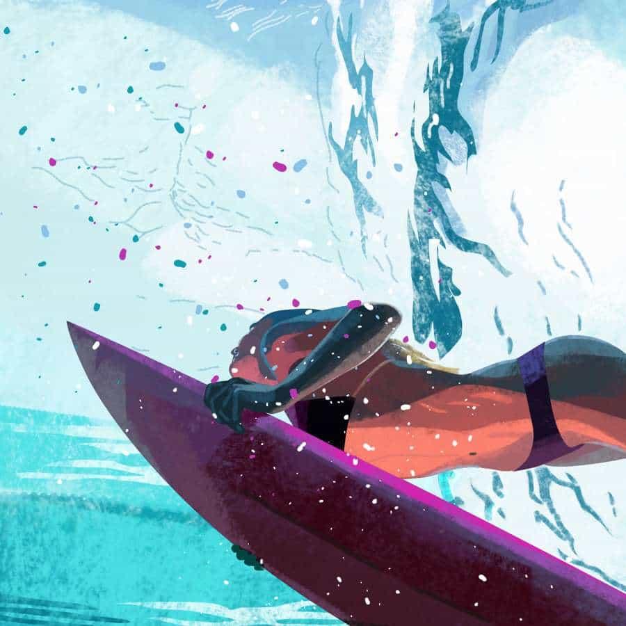 Surf Locos Ilustraciones