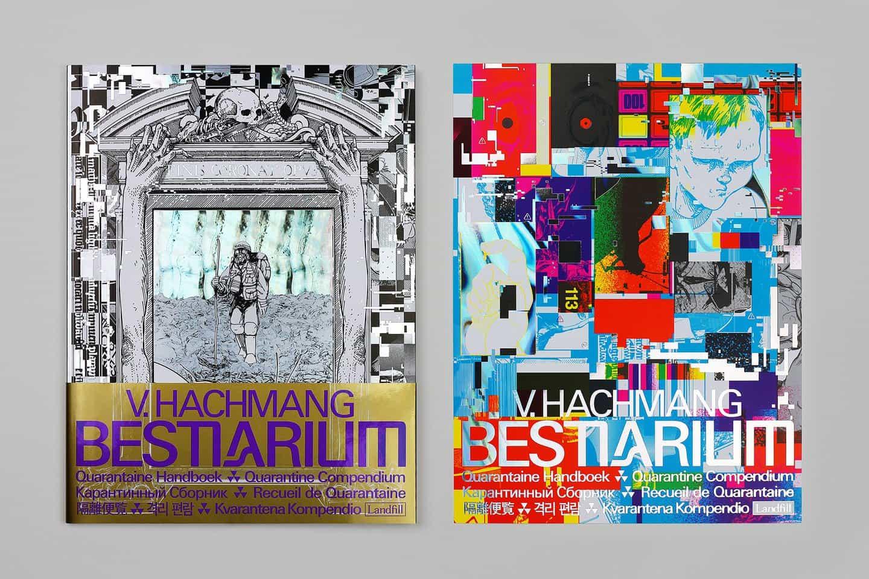 La portada del Bestiarium de Viktor Hachmang da una impresión de un tipo de historia, pero la realidad es muy diferente