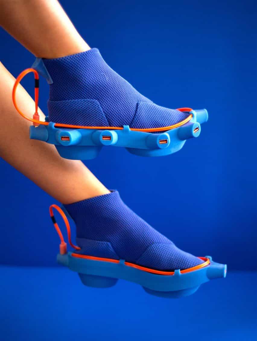 Netina zapatos de Netha Goldberg cuentan con puertos de recarga eléctrica