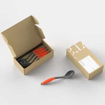 Eyra utensilios de cocina por eyra y Sebastian Conran Associates