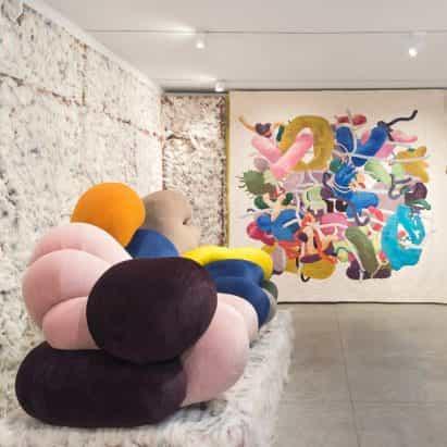 "Misha Kahn apunta a ""mostrar el diseño optimista"" en Friedman Benda Nueva York"