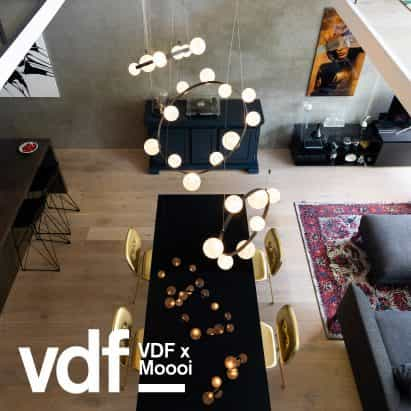 Moooi lanza nuevas luces de Marcel Wanders y Joost van Bleijswijk en VDF