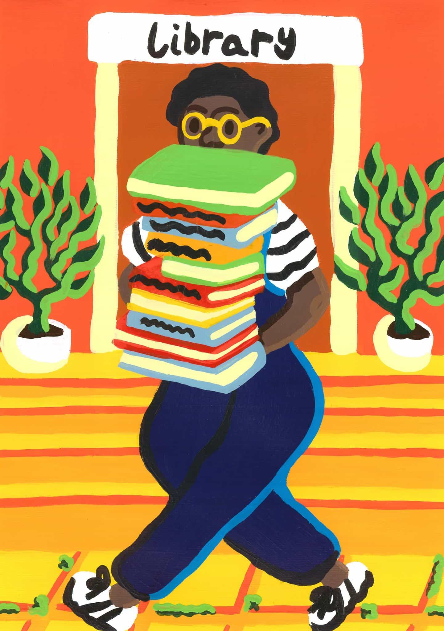 Rosie mayo: El conseguir de nuevo a los libros (Copyright © Rosie de mayo de 2020)