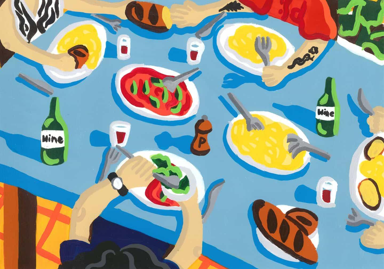 Rosie mayo: La cena está lista (Copyright © Rosie de mayo de 2020)