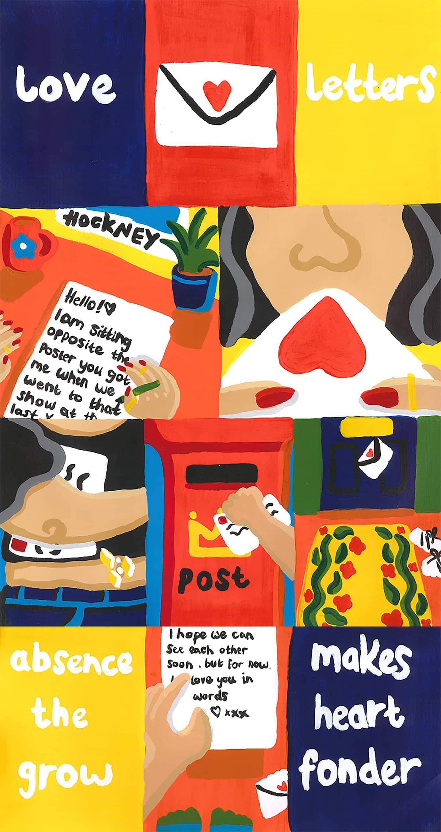 Rosie mayo: Cartas de Amor (Copyright © Rosie de mayo de 2020)