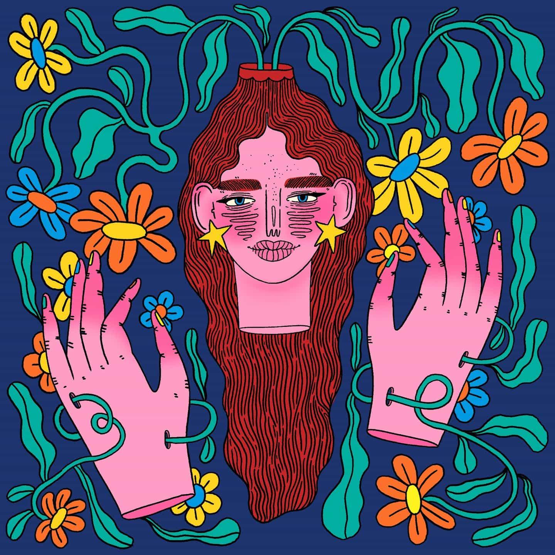 Doolittle Illustrations (Eliza Williams): Expanding Mind (Copyright © Doolittle Illustrations, enero de 2021)