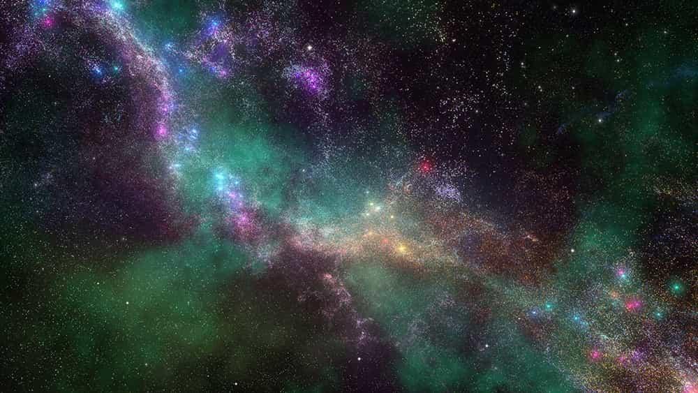 ¿De qué color es el universo? No es lo que piensas