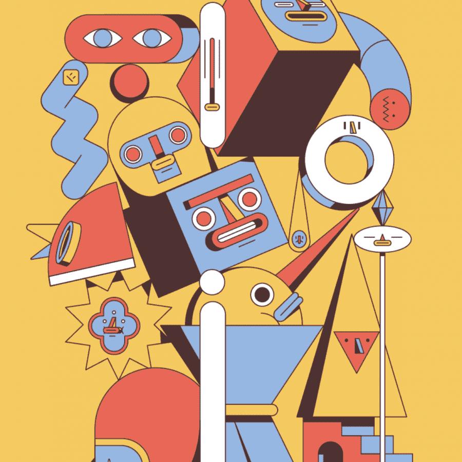 Estilo de ilustración fresco para Adobe LAT