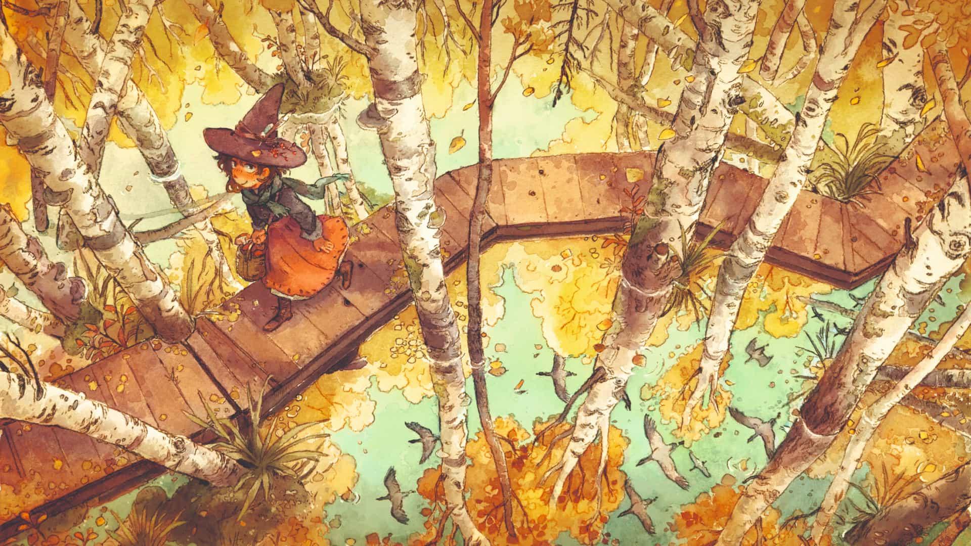 Acuarelas de otoño: cómo capturar el otoño