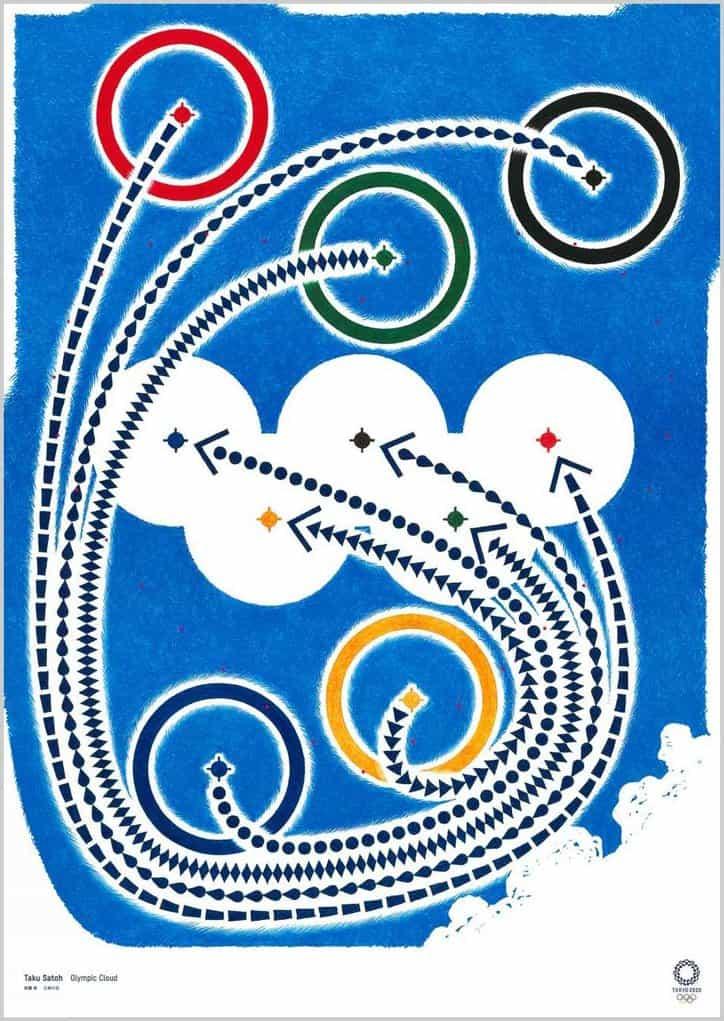 Tokio 2020 carteles oficiales de arte de Chris Ofili, Viviane Sassen y Naoki Urasawa dio a conocer