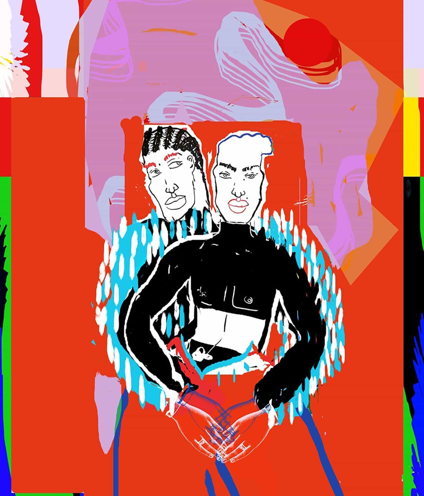 """""""Espero que mi trabajo cambie al menos la percepción de una persona"""": Ngadi Smart en sus ilustraciones vibrantes e impulsadas por el contexto"""