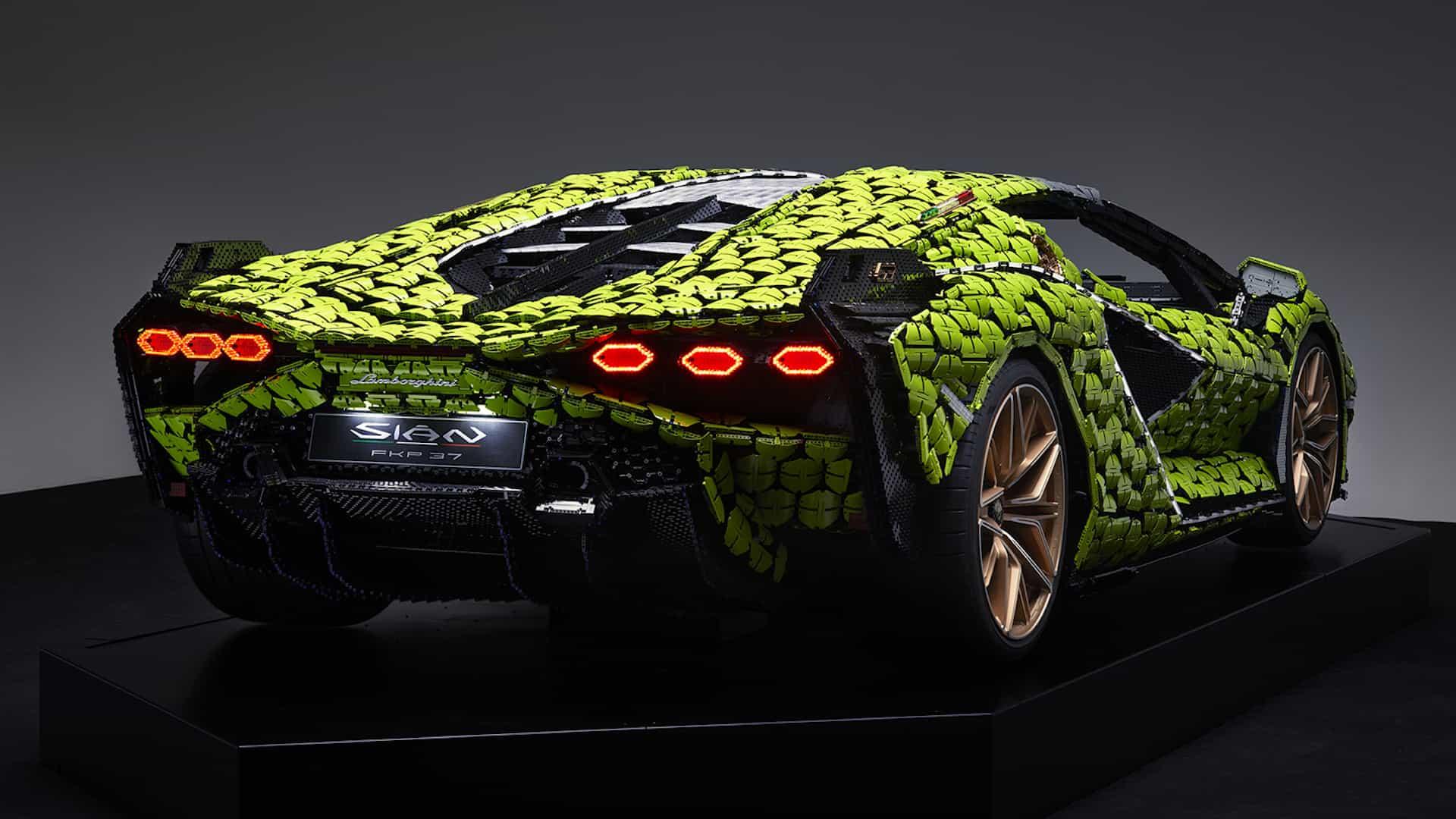 El nuevo Lego Lamborghini es completamente ridículo (y nos encanta)