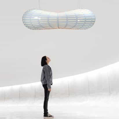 David Trubridge rediseña colección de iluminación de la nube