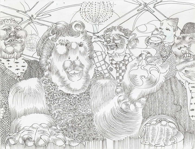 Conoce a Lukas Weidinger y sus intrincados ilustraciones sin fin