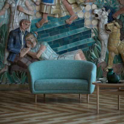 """Casa de Finn Juhl vuelve a emitir sofá Madrecita después de 75 años """"en hibernación"""""""