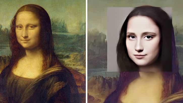 artista digital reinventa la Mona Lisa con resultados interesantes (pero espeluznantes)