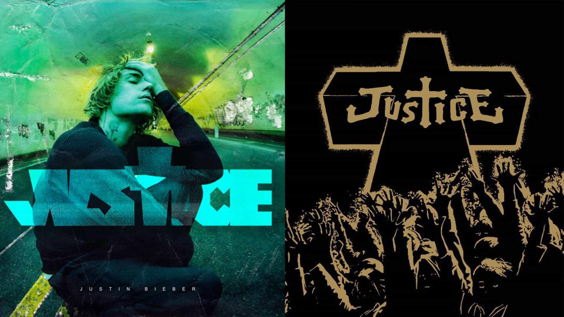 Justin Bieber acusado de copiar la carátula del álbum Justice
