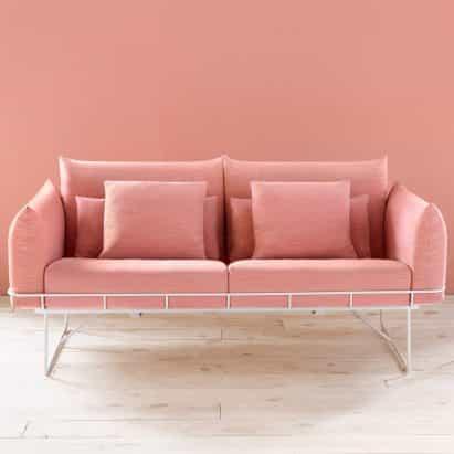 Sofá de alambre por Sam Hecht y Kim Colin para Herman Miller