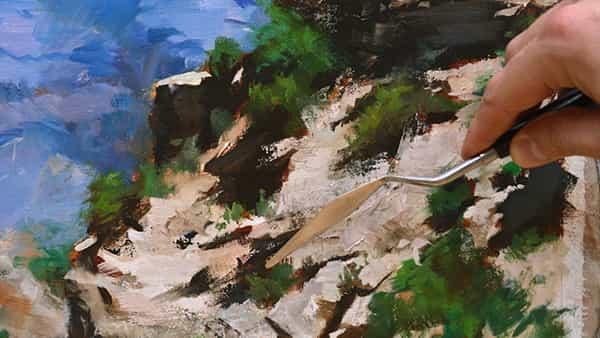 Dar a su arte un impulso con estas técnicas profesionales de pintura al óleo.