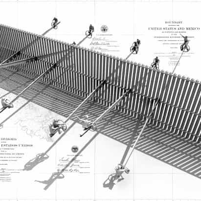 """""""El juego puede ser un acto de resistencia"""", dice el arquitecto balancín frontera con Estados Unidos Virginia San Fratello"""