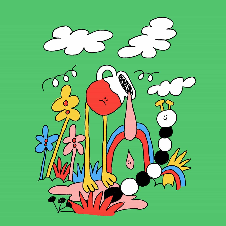 Los dibujos de Cuca Berenguer son una expresión alegre de la maravilla, el color y la ironía