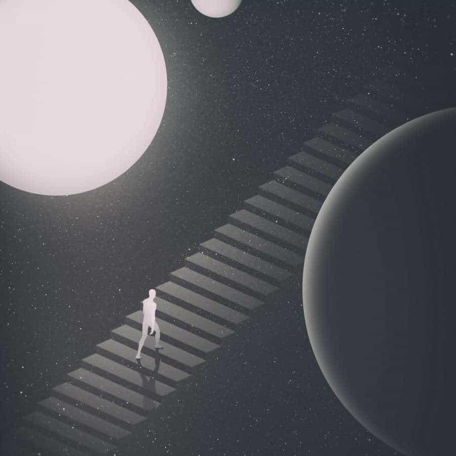 Estilo de ilustración surrealista: el observatorio