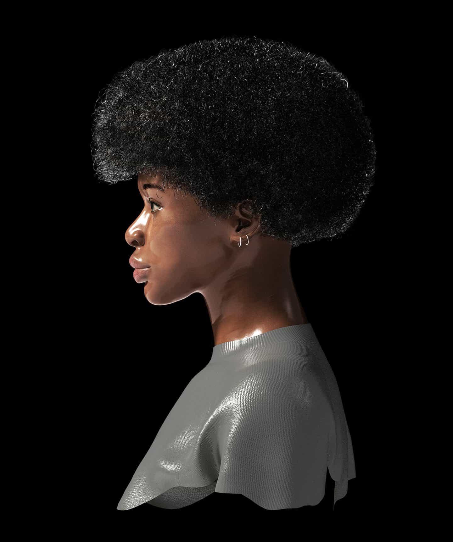 Versión final: Retrato de Joy Yamusangie